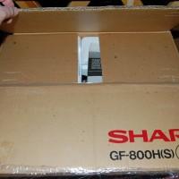 Sharp GF-800. Сделан в Японии, в 1985 году. Вскрыт в Москве, двадцать девять лет спустя.